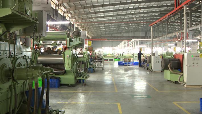 Với nhà máy đế được xây dựng từ năm 2002, TBS đã làm chủ được công nghệ sản xuất đế cao su, EVA và Phylon