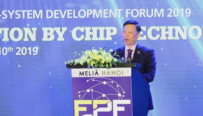 Ông Trần Quý Tưởng, Cục Trưởng Cục Công nghệ Thông tin, Bộ Y tế tại diễn đàn EPF 2019