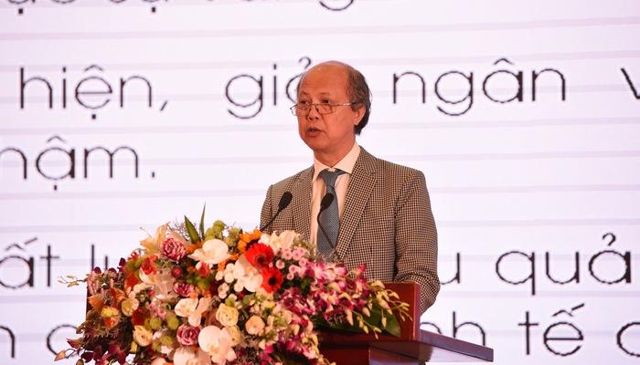 Chủ tịch VnREA Nguyễn Trần Nam phát biểu tại diễn đàn ngày 27/11